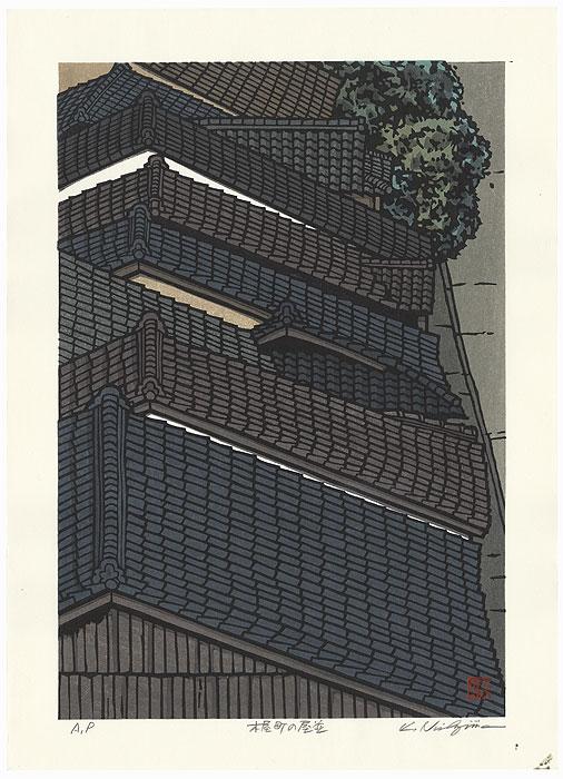 Houses of Kiyamachi by Nishijima (born 1945)