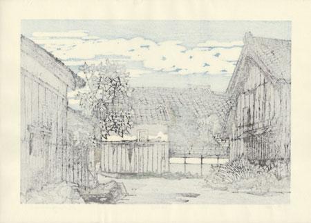 Spring in Aburahi by Nishijima (born 1945)