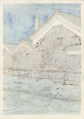 Along the Water's Edge by Nishijima (born 1945)