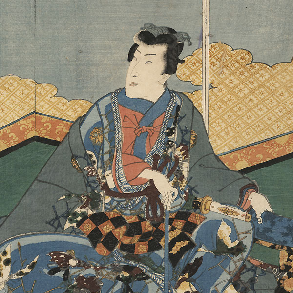 The First Month (Mutsuki), 1855 by Kunisada II (1823 - 1880)