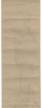 Beauty and Young Boy Pillar Print by Shuncho (active circa 1780 - 1795)