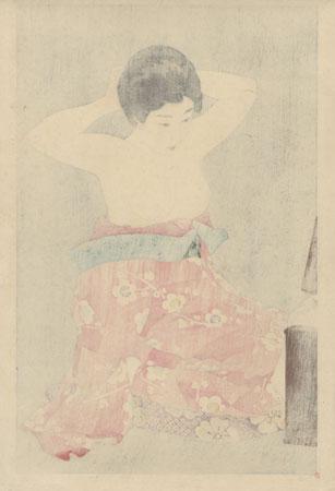 Makeup, 1930 by Torii Kotondo (1900 - 1976)