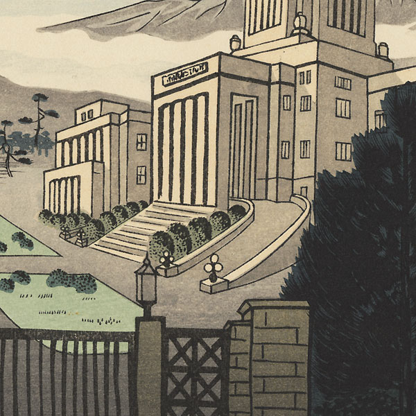 Imperial Diet Building, circa 1950s by Gihachiro Okuyama (1907 - 1981)