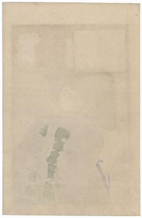 Ichikawa Danjuro IX as a Commoner by Kunichika (1835 - 1900)