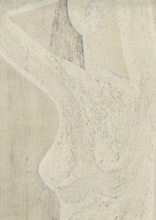 Nude (D), 1966 by Kiyoshi Saito (1907 - 1997)