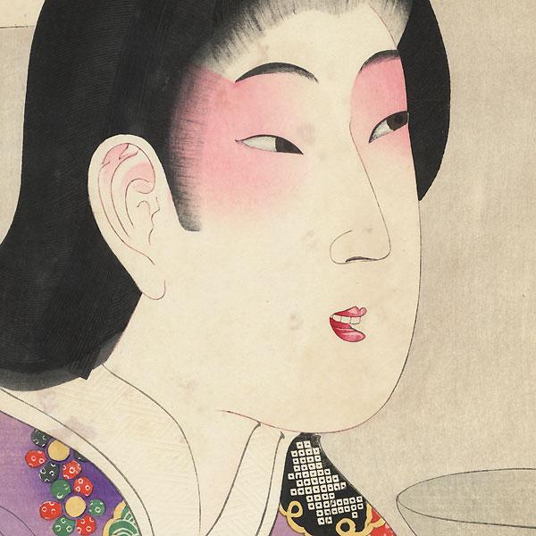 The Kanbun Era (1661 - 1673) by Chikanobu (1838 - 1912)