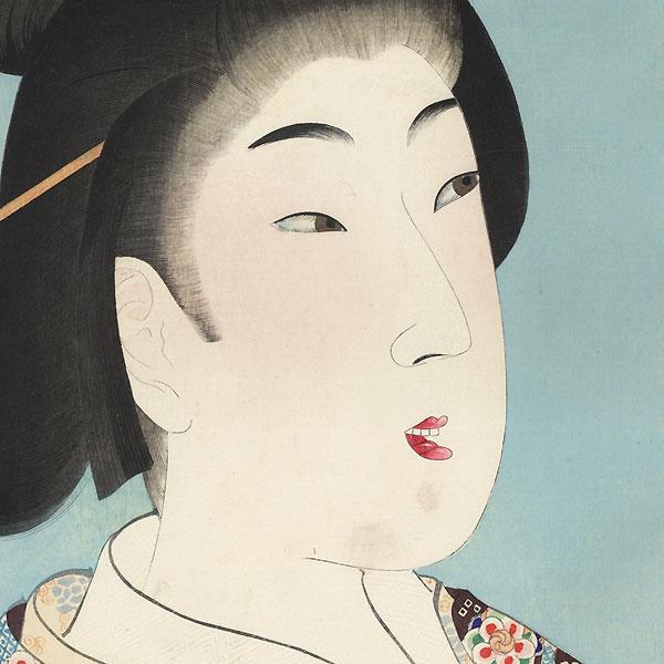The Enpo Era (1673 - 1680) by Chikanobu (1838 - 1912)