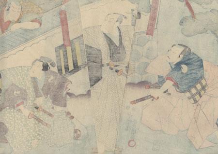 The 47 Ronin, Act 4: Lord Hangan's Suicide, 1847 - 1852 by Toyokuni III/Kunisada (1786 - 1864)