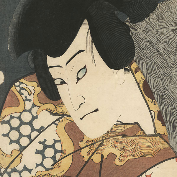 Nakamura Fukusuke I as Taira Taro Yoshikado, 1859 by Toyokuni III/Kunisada (1786 - 1864)