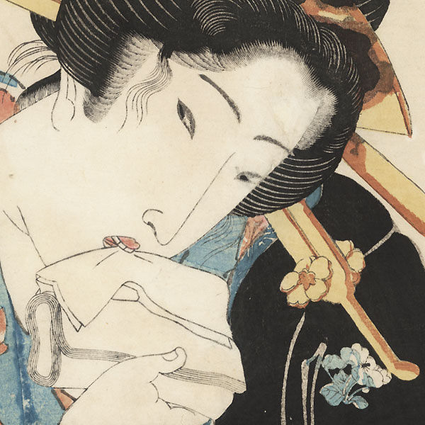 The Coquettish Type by Eisen (1790 - 1848)