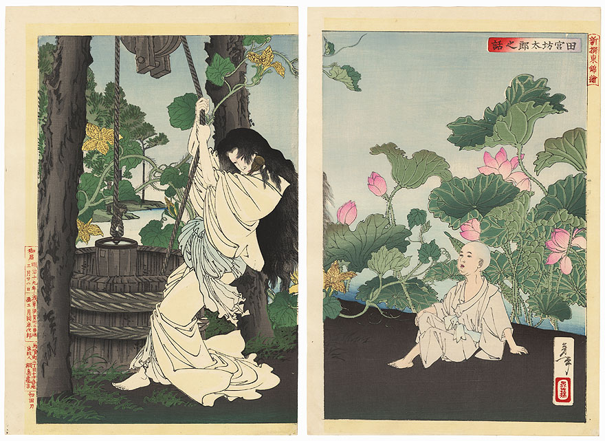 The Story of Tamiya Botaro by Yoshitoshi (1839 - 1892)