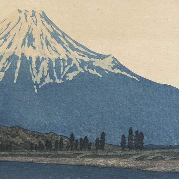 Fuji River, 1933 by Hasui (1883 - 1957)