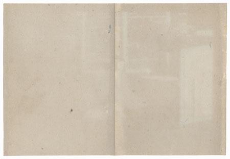 Girl Taking a Lesson by Meiji era artist (not read)