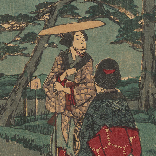 Kakegawa by Hiroshige (1797 - 1858)