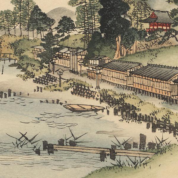 Chiuzenji Lake by Meiji era artist (not read)