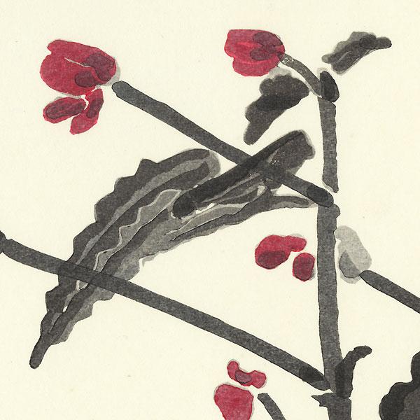 Red Blossoms by Tanaka Kichinosuke (1897 - ?)