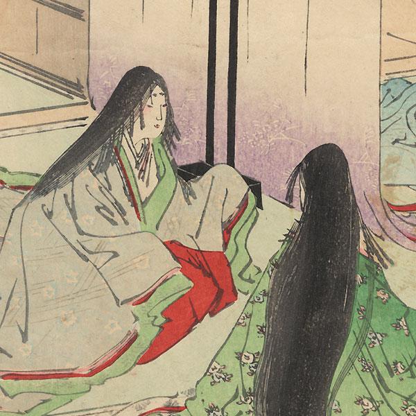 Yokobue, Chapter 37 by Gekko (1859 - 1920)