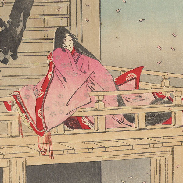 Hana no en, Chapter 8 by Gekko (1859 - 1920)