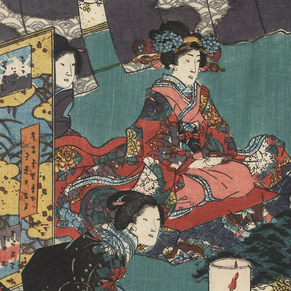 Niou no miya, Chapter 42 by Toyokuni III/Kunisada (1786 - 1864)