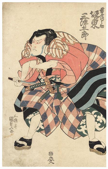 Bando Mitsugoro III, 1827 by Toyokuni III/Kunisada (1786 - 1864)