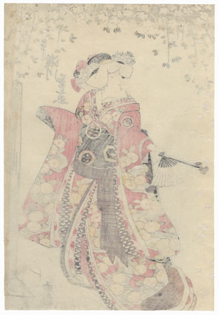 Segawa Kikunojo V as a Shirabyoshi Dancer, 1820 by Toyokuni I (1769 - 1825)