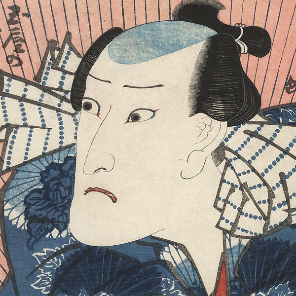 Onoe Kikugoro as the Boatman Tamaya by Toyokuni III/Kunisada (1786 - 1864)