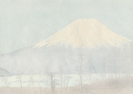 Mt. Fuji in Autumn by Tokuriki (1902 - 1999)