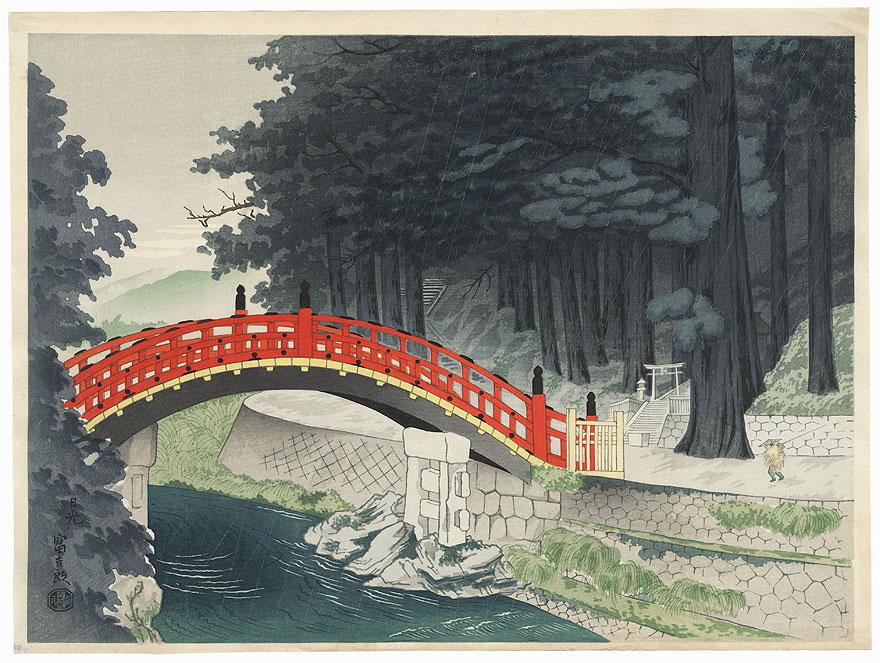 Nikko by Tokuriki (1902 - 1999)
