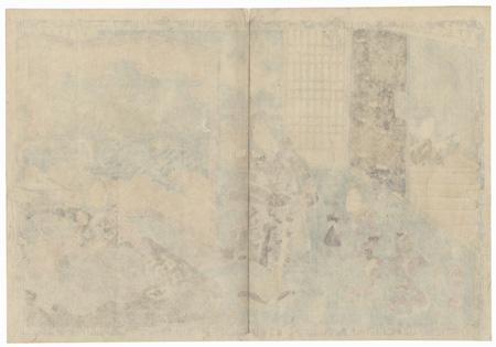 Yadorigi, Chapter 49 by Toyokuni III/Kunisada (1786 - 1864)