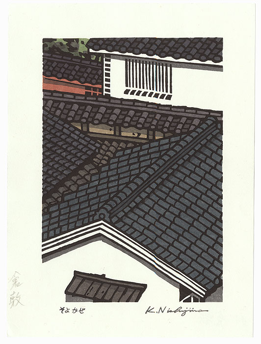 Rooftops by Nishijima (born 1945)