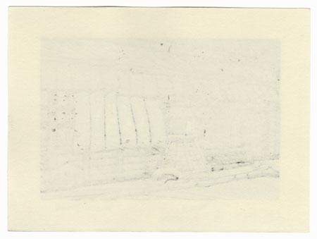 Lantern and Curtains by Nishijima (born 1945)