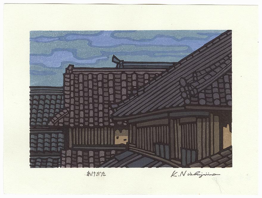 Dawn by Nishijima (born 1945)