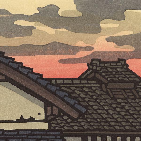 Evening Clouds by Nishijima (born 1945)