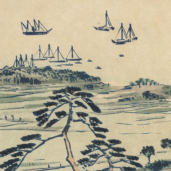 Kiyomigata, 1896 by Kiyochika (1847 - 1915)