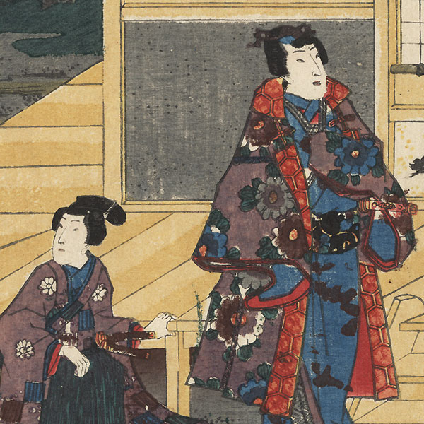 Yugiri, Chapter 39 by Toyokuni III/Kunisada (1786 - 1864)