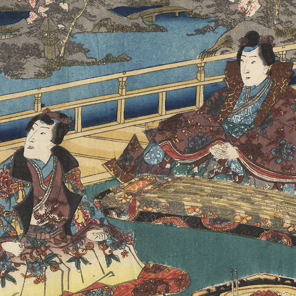 Hashihime, Chapter 45 by Toyokuni III/Kunisada (1786 - 1864)