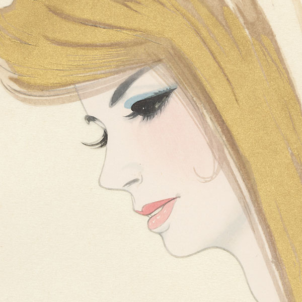 Blonde Hair by Iwata Sentaro (1901 - 1974)