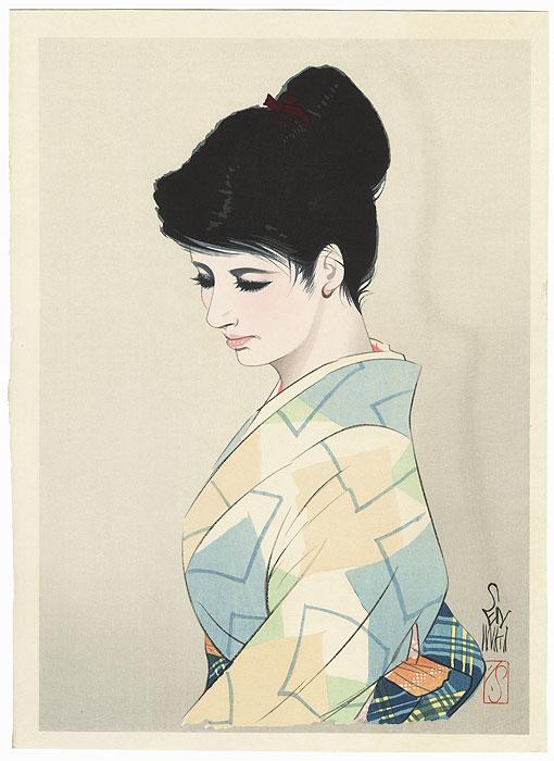 Summer Elegance by Iwata Sentaro (1901 - 1974)