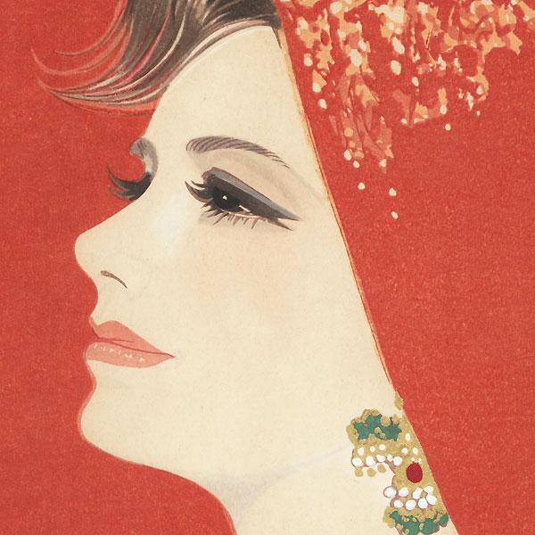 Crimson by Iwata Sentaro (1901 - 1974)