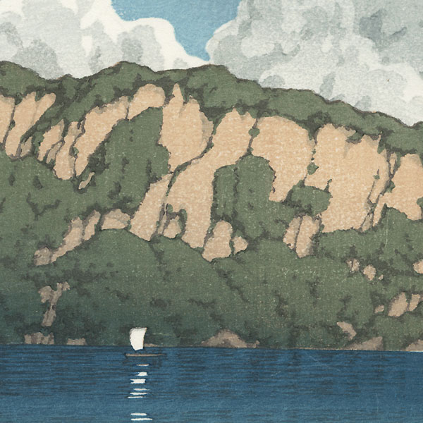 Lake Towada by Hasui (1883 - 1957)