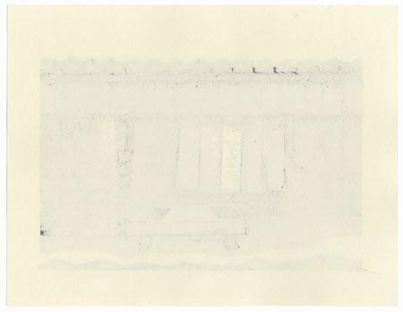 Heavy Snow by Nishijima (born 1945)
