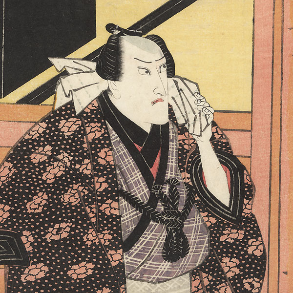 Exchanging Frowns by Toyokuni I (1769 - 1825)