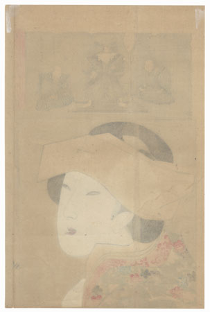 The Tenpo Era (1830 - 1844) by Chikanobu (1838 - 1912)