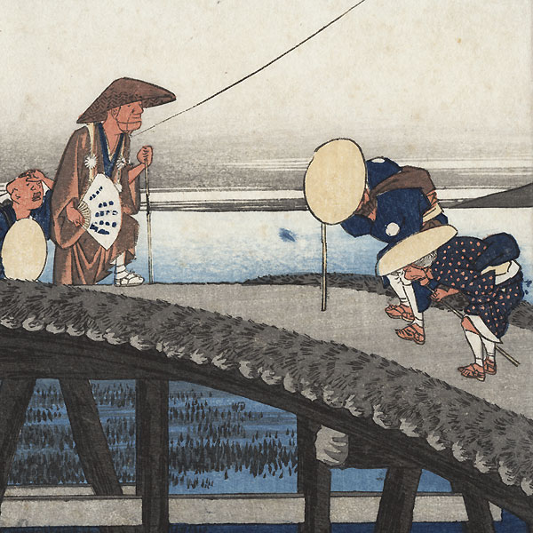 Distant View of Mount Akiba at Kakegawa, circa 1833 - 1834 by Hiroshige (1797 - 1858)