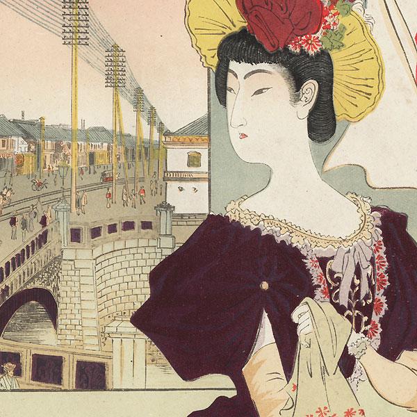 November by Meiji era artist (not read)
