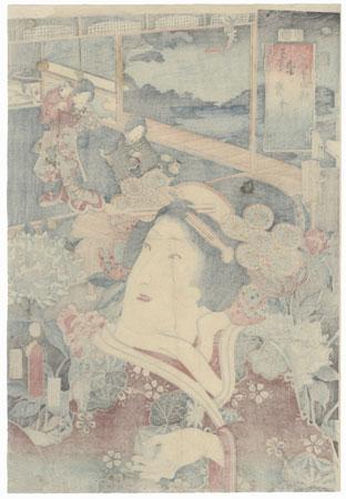 Usugumo, Chapter 19: Iwai Kumesaburo III by Toyokuni III/Kunisada (1786 - 1864)