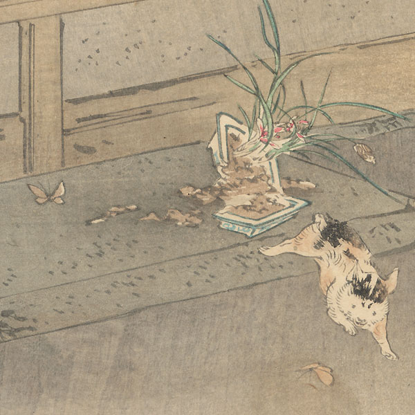 Orchid by Gekko (1859 - 1920)