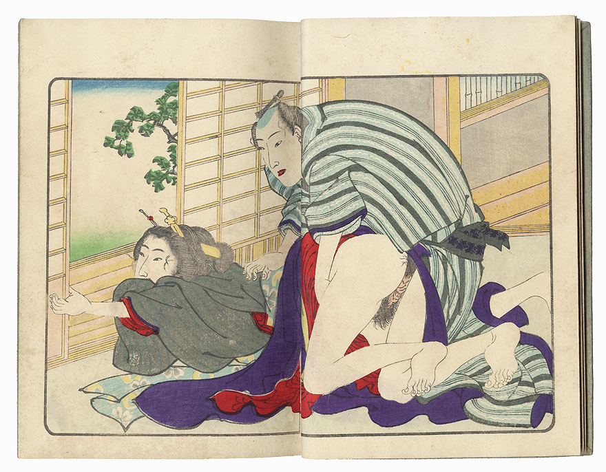 Series; The Smile of a Flower (Hana no Egao), Complete Volume 1 by Kuniyoshi (1797 - 1861)