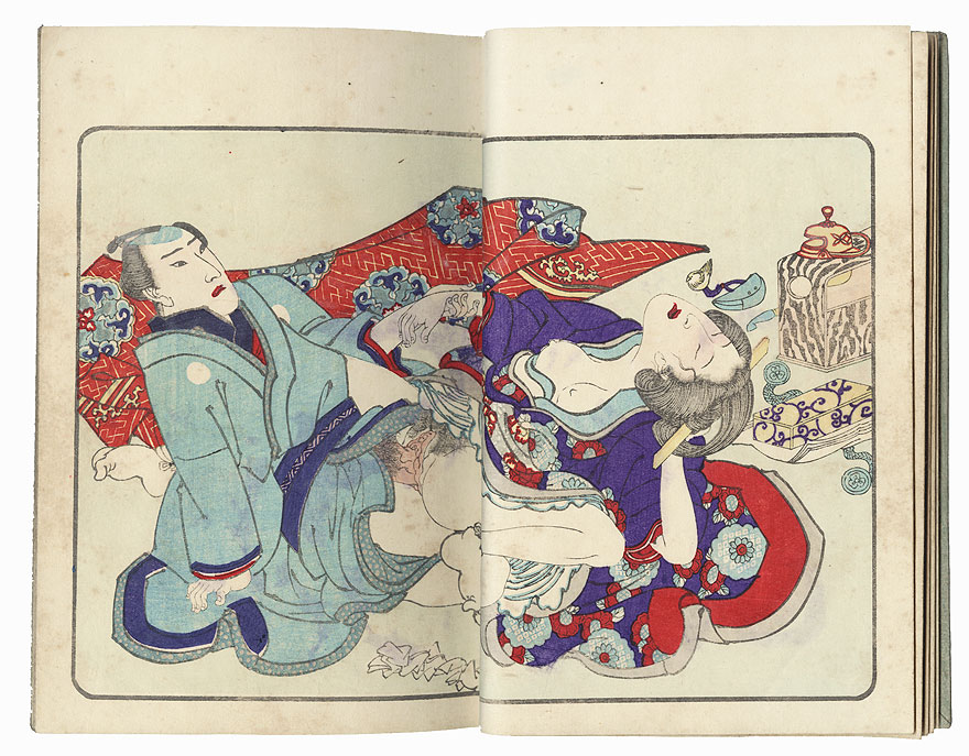 Series; The Smile of a Flower (Hana no Egao), Complete Volume 2 by Kuniyoshi (1797 - 1861)