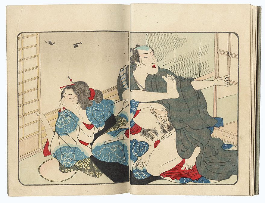 Series; The Smile of a Flower (Hana no Egao), Complete Volume 3 by Kuniyoshi (1797 - 1861)